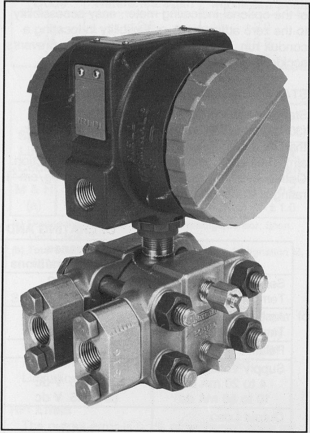 823DP Electronic d/p Cell Transmitter