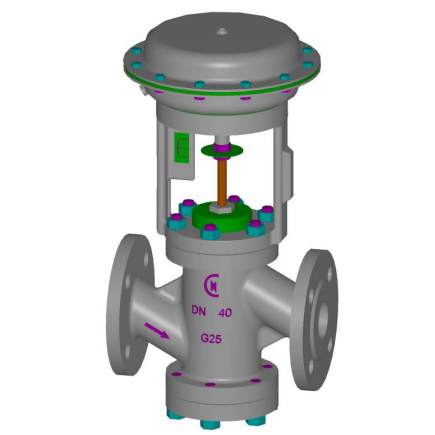 ON-OFF Valves - Pneumatic / Electric